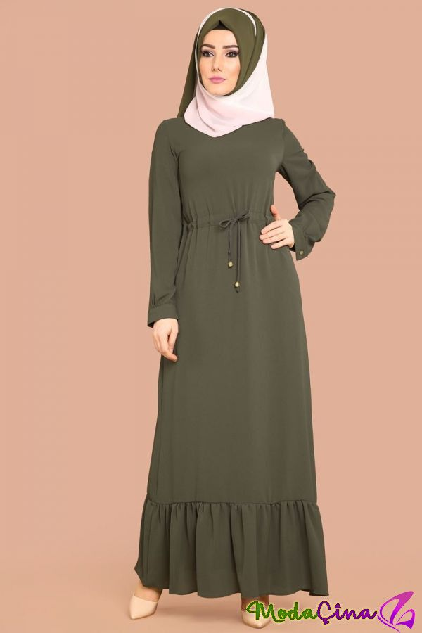 2018 Tesettur Abiye Elbise Modelleri Dengan Gambar Model Pakaian Muslim Model Pakaian Pakaian Wanita