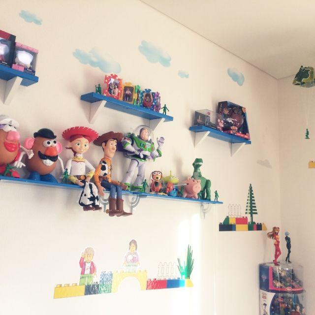 おもちゃ収納のアイデアとコツ50選 | RoomClip mag | 暮らしとインテリアのwebマガジン