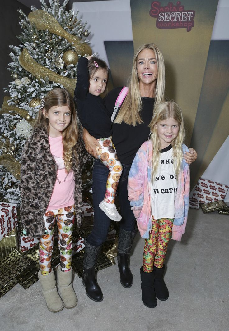 Denise Richards has done a beautiful job raising her daughters, Sam, Lola, and Eloise. However, she has made an effort to spend family time with ex-husband Charlie Sheen.