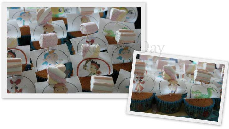 Piraten cupcakes