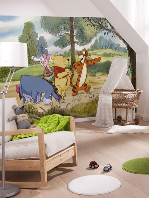 Winnie the Pooh Expedition Photo Wall Mural 254 x 184 cm