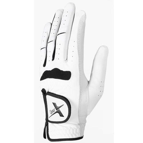 1pcs Left Hand Golf Glove Men White Cabretta Soft Size 22-23-24-25-26 #Unbranded