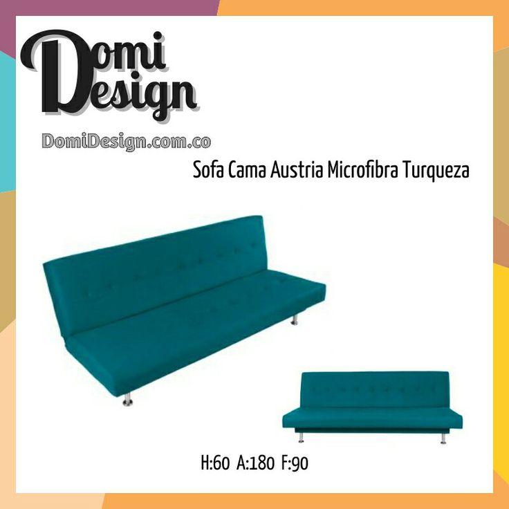 Sofá cama en microfibra http://shoutout.wix.com/so/7LHqQFKo