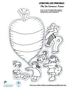 The Big Enormous Turnip | Austin Public Library