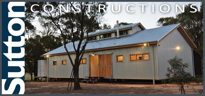 Sutton Constructions - shearing shed house turumbarry