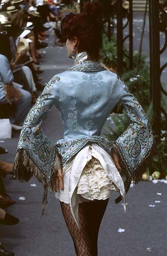 1997-98 - Galliano for Dior Couture show