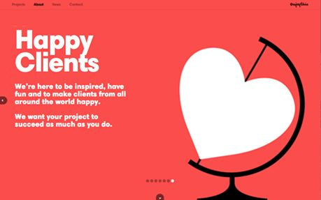 35 Flat Web Design Examples For Inspiration #flatdesign #flatwebsitedesign
