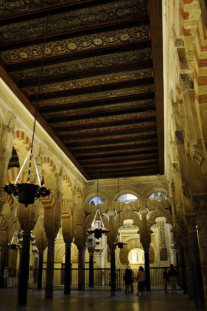 Mosque Cathedral,  Cordoba Spain. Our tips on 25 Things to Do in Spain: http://www.europealacarte.co.uk/blog/2012/02/09/what-to-do-in-spain/