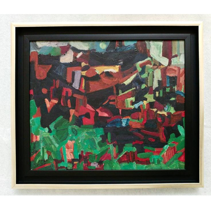"""SZITTYA Emil: Abstract composition, 1940""""s #fineart #oilpainting #oiloncardboard #abstractexpressionism #abstrait ##abstractpainting #szittyaemil #emilszittya #emileszittya #hungarianartist #hungarianart #frenchart #frenchartist #dadaism ##dada #avantgarde #painting #modernart #artemoderna #artmoderne #colorful #green #artlover #museumlover #ig_artistry #composition #surrealism #ig_hungary #ilovebudapest"""