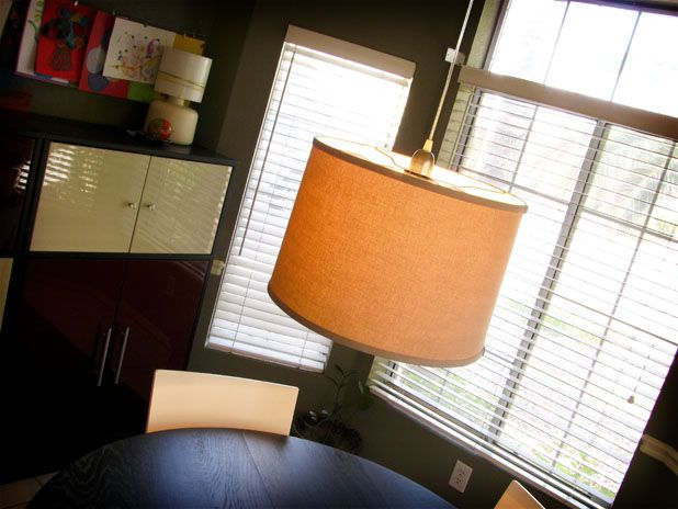 How To Make Your Own Drum Shade Pendant Via LindyMint Home Ideas Pintere