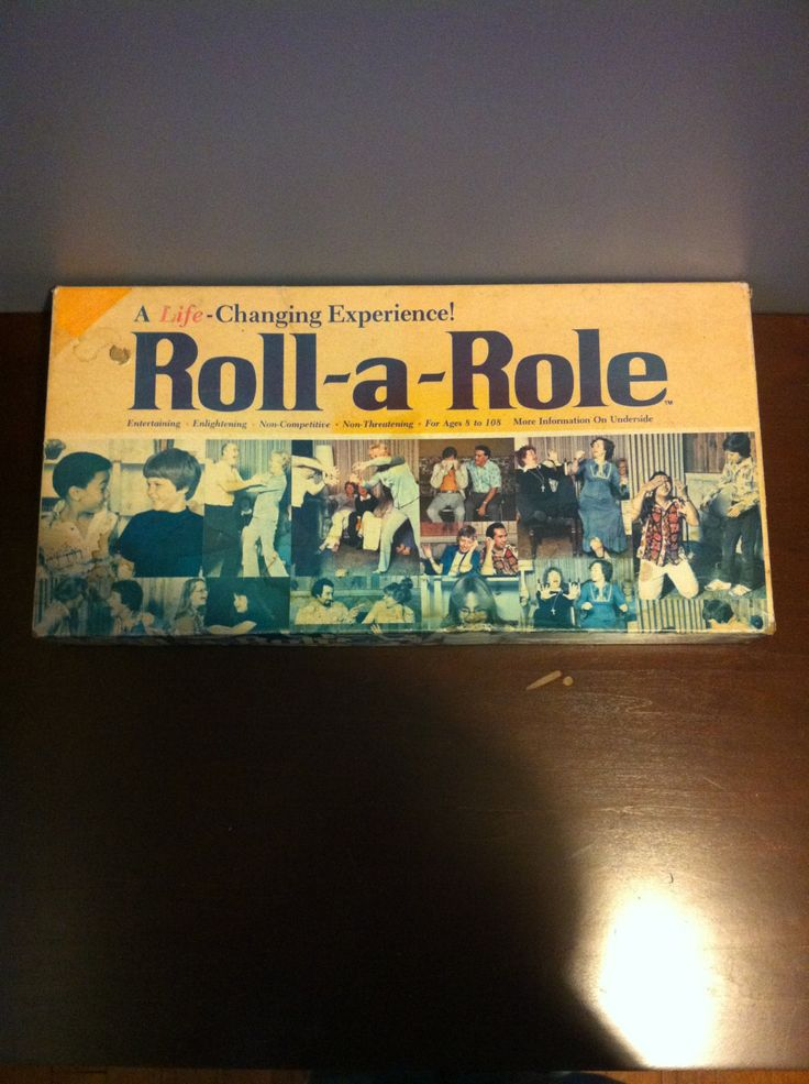 1976 Roll-a-Role game from the Ungame Co. by MandysFunkyVintage on Etsy