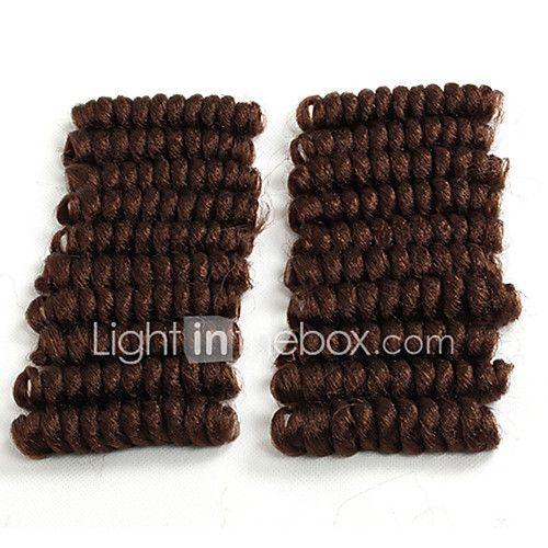 Bouncy Curl crochet hair twist 20inch black/burgundy saniya curl Synthetic kanekalon braiding hair bouncy twist Freetress Braid Kinky Twisted 2017 - $8.99