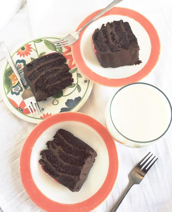 Delicious gluten free, dairy free chocolate cake. One of my all time favourite recipes!
