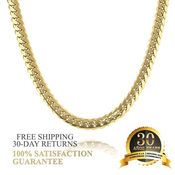 Cuban Link Chains Gold Five Star Jewelers Miami Florida In 2020 Cuban Link Chain Gold Cuban Link Chain Cuban Link