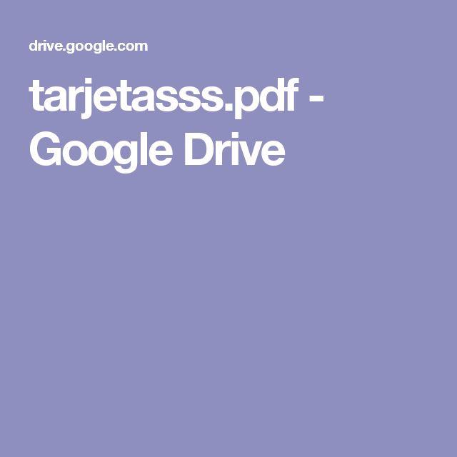 tarjetasss.pdf - Google Drive