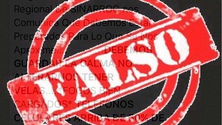 Desmienten que se registrará un temblor en Panamá