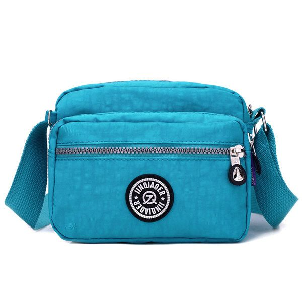 Jinqiaoer Women Casual Nylon Lightweight Portable Shoulder Bags Crossbody Bags