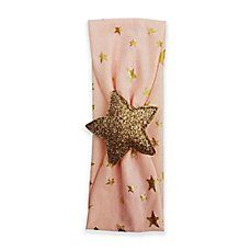 image of Tiny Treasures Star Headband in Pink/Gold