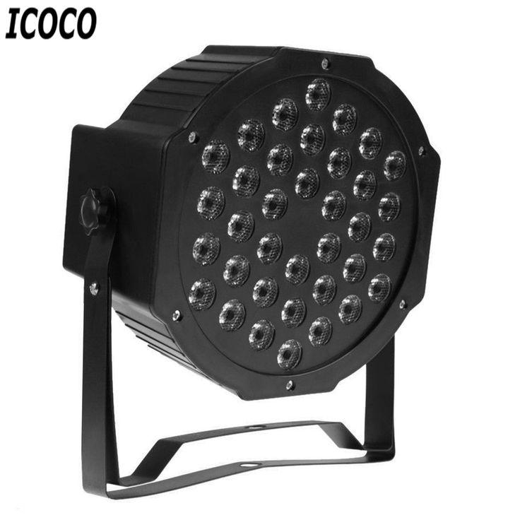 ICOCO 36 LEDs Laser Stage Light For Stage Club Pub Ballroom Large Scale Concert EU Plug/US Plug PAR Light Drop Shipping Hot Sale #Affiliate