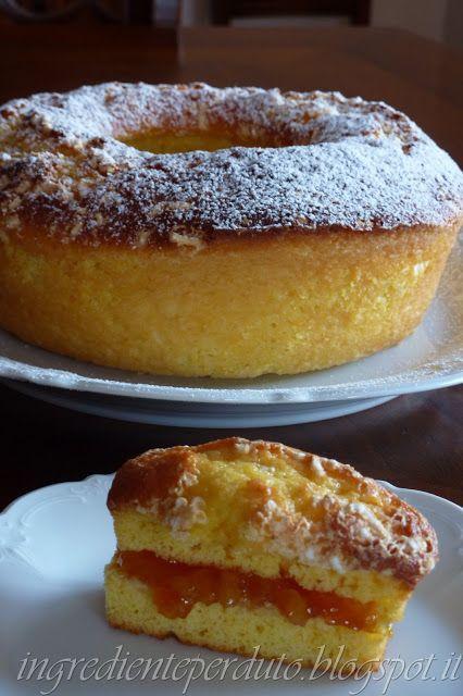 L'ingrediente perduto: Ciambella all'arancia senza burro, olio.....