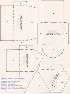 Else's Bellas Artes: FREE Mini Envelope Templates for You :)  #scrapbook #papercrafts #envelope