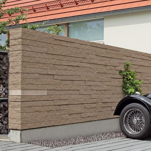 Mauern — Braun Steine