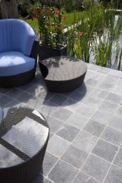 Asian Blue 20x20 terrastegel natuursteen Beltrami