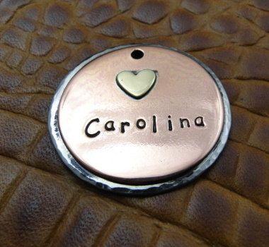 Custom Carolina Dog ID Tag Pet ID Tag by IslandTopCustomTags
