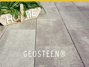 #GeoSteen #MBI Vind hier de hele collectie buitentegels, terrastegels en tuintegels