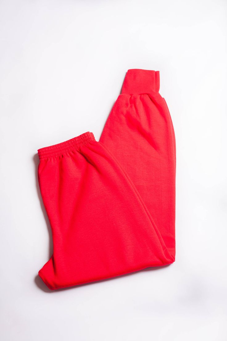 Vintage 80s Active Wear Bright Red Joggers Sweatpants Active Workout Pants by TheVintageLadye on Etsy https://www.etsy.com/listing/532900027/vintage-80s-active-wear-bright-red