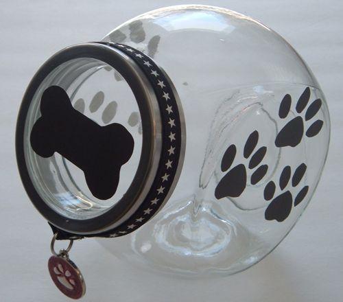 PetBling.ca: DIY Dog Treat Jar