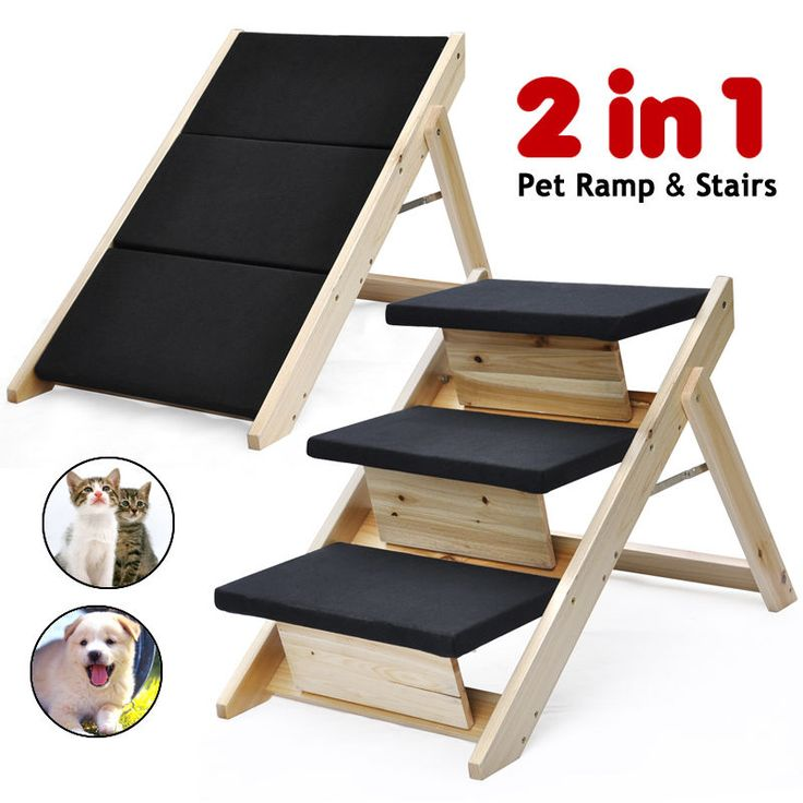 Universalwant Plus Pet Stairs Pup Step, Cat Dog Ramp Steps