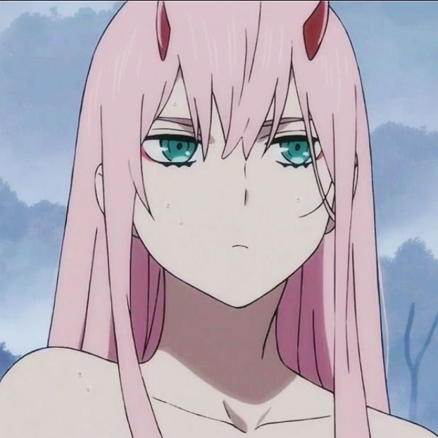 Marshmallow — Zero two icons from Darling in the Franxx
