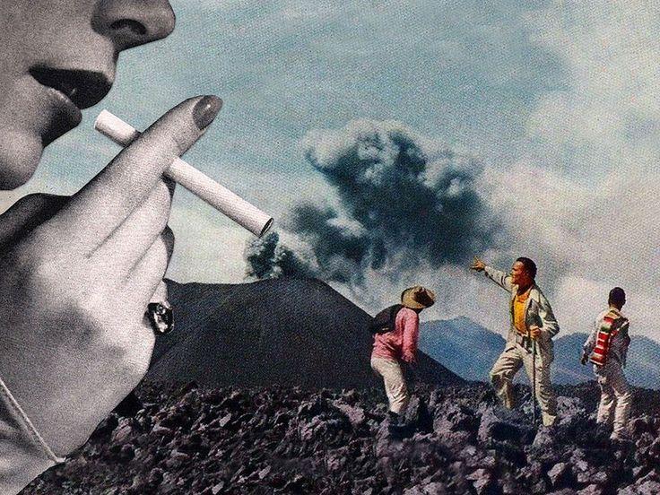 Los collages sarcásticos de Eugenia Loli                                                                                                                                                                                 Más