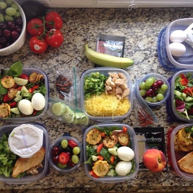 Prepping for the 21 Day Fix // #21DayFixApproved