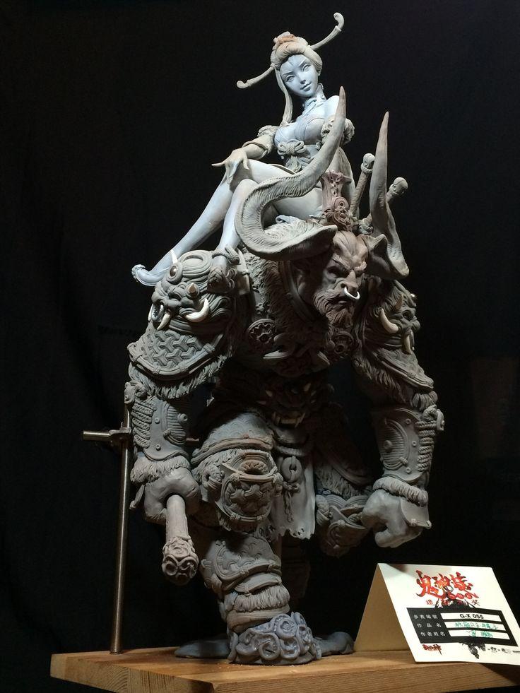 Iron princess bull devil king