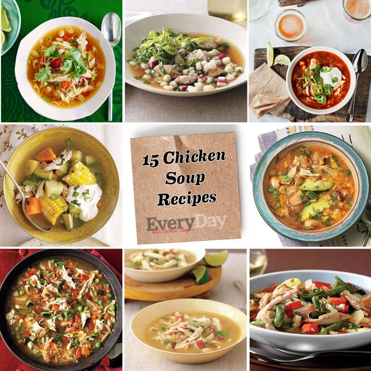 Upgrade your classic Chicken Noodle Soup and try one of our 15 Delicious Chicken Soup Recipes!