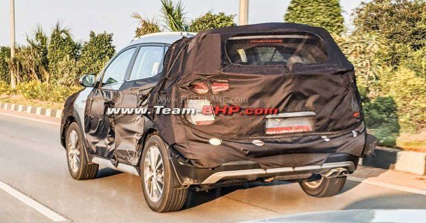 New Hyundai Tucson Facelift Spied In India To Be Launched At Auto Expo 2020 New Hyundai Honda Cr Jeep Compass