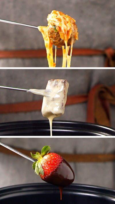 Esses três incríveis molhos para fondue vão te esquentar no inverno!