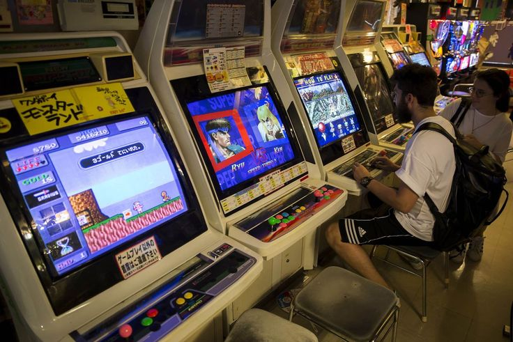 A Blast From the Past Inside Japan's Retro Gaming Shops - Bloomberg
