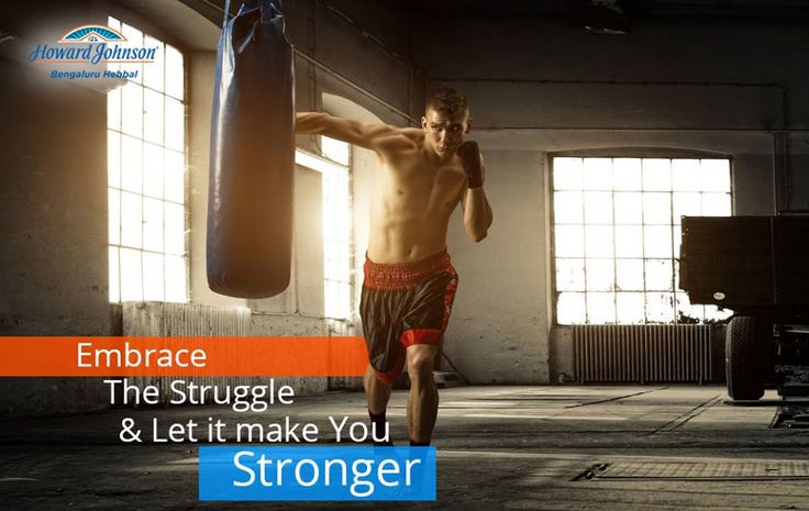 Howard Johnson Bengaluru Hebbal Published by Hootsuite Like This Page · August 22 · Edited  ·    You only become stronger by facing the day to day struggle. #HappyHoJoMotivation #GoHappyGoHojo