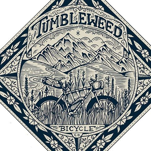 New bandana design for @tumbleweedbikes
