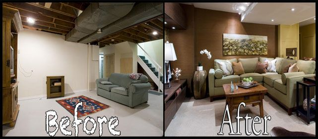 Small Basement Remodel Before After. Basement Remodeling Before And After Home Basement Design Pinterest Basements And Construction