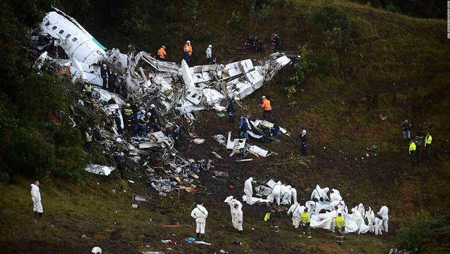 en directo: Brasil y el mundo de luto por muerte de el equipo ...