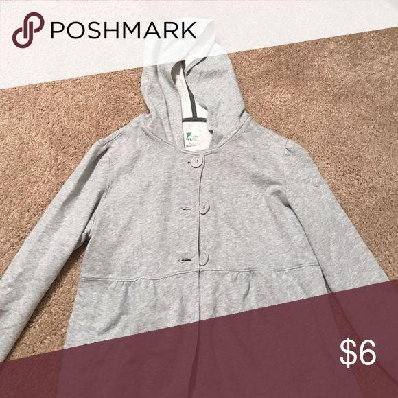 Maternity hoodie 3 botton gray hoodie Old Navy Tops Sweatshirts & Hoodies