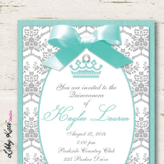 Best 25 sweet 15 invitations ideas on pinterest quinceanera quinceanera invitations sweet 16 sweet 15 by libbykatesmiles solutioingenieria Image collections
