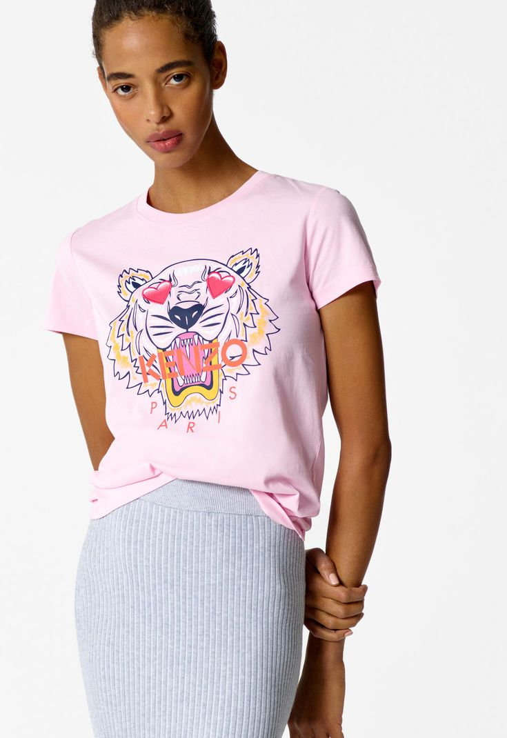 7fdebef640 Valentine's Day Capsule' Tiger t-shirt for WOMEN Kenzo | Kenzo.com ...