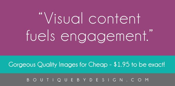 Gorgeous Quality Images for Cheap - $1.95 to be exact! | Boutique By Design #BoutiqueByDesign