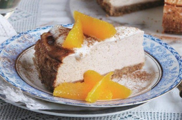 Slimming World's honey and yogurt cheesecake