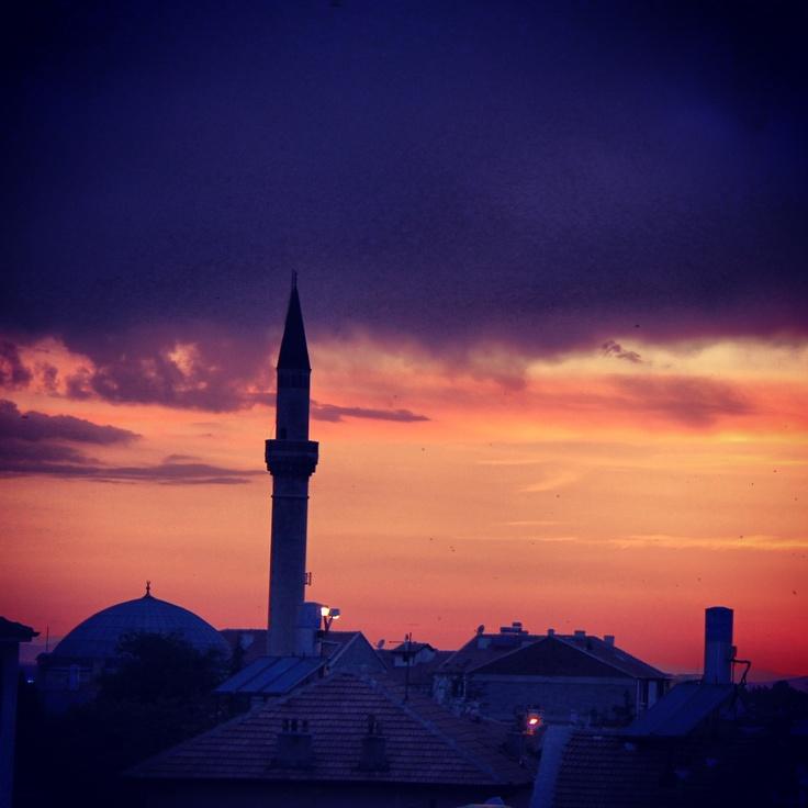 Sunset in Karaman Turkey